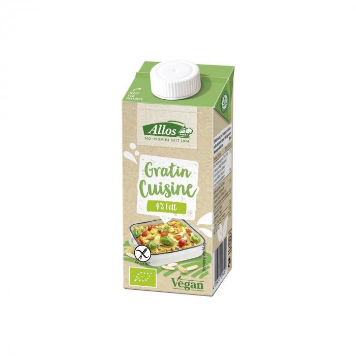 Crema vegetala pentru gratinat FARA GLUTEN 200ml [0]