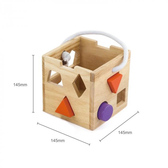 Cub sortator din lemn [3]