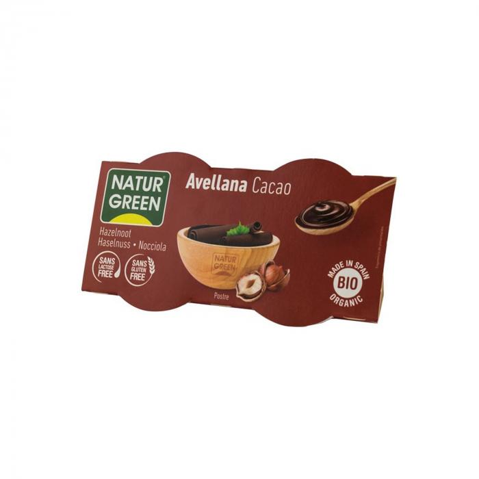 Desert BIO cu alune si cacao, 2x125 g [0]