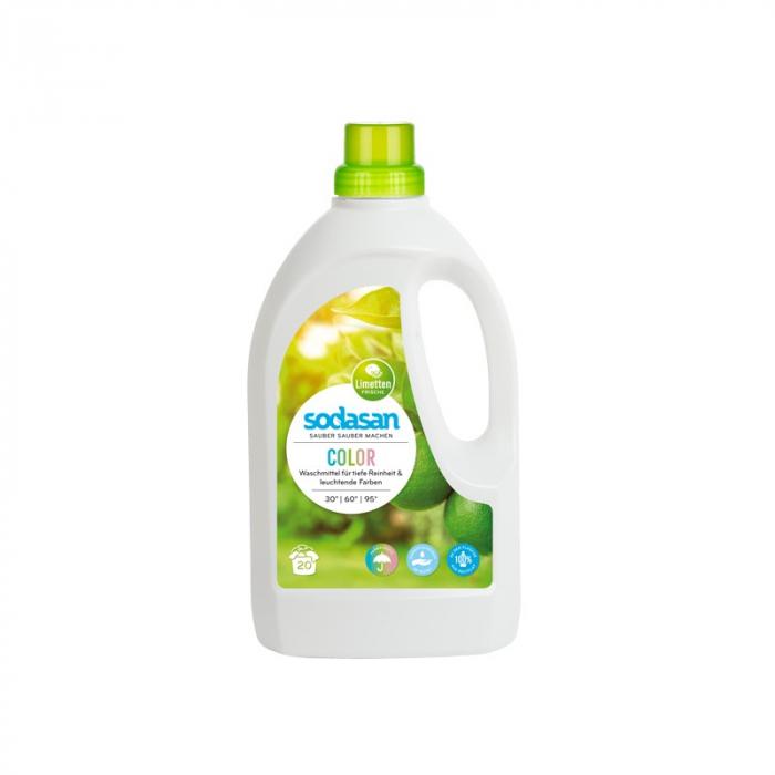 Detergent Bio Lichid Rufe Albe si Color Lime 1,5 L [0]