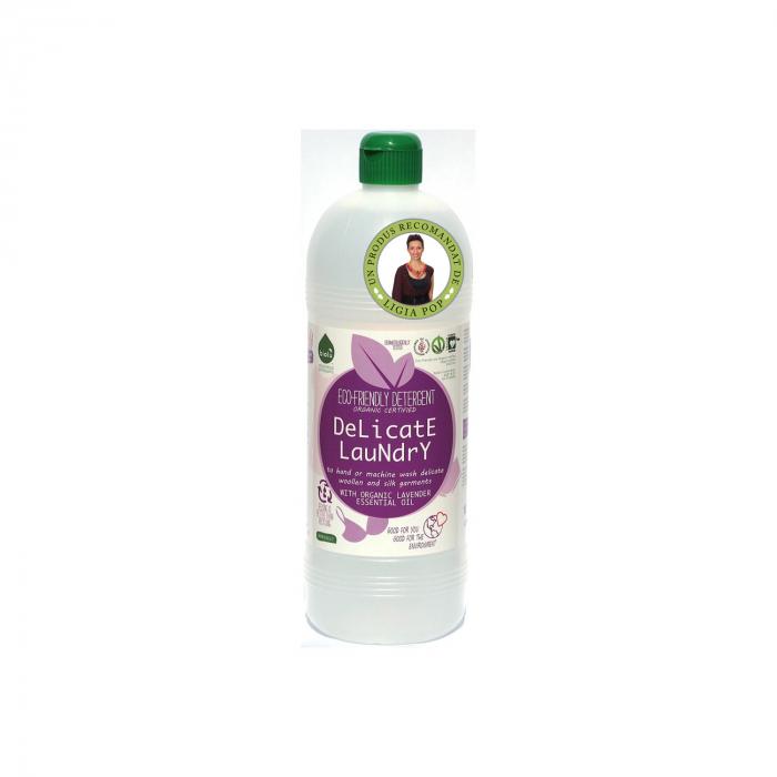 Detergent ecologic lichid pt. rufe delicate si hainutele copiilor 1l [0]