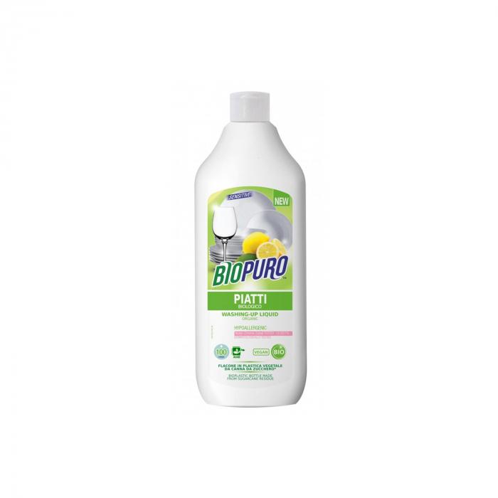 Detergent hipoalergen lichid pt. spalat vase BIO 500ml [0]