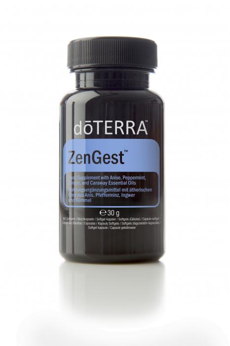 doTerra Digest Zen - capsule moi cu un blend de uleiuri esentiale pentru digestie 60cps [0]