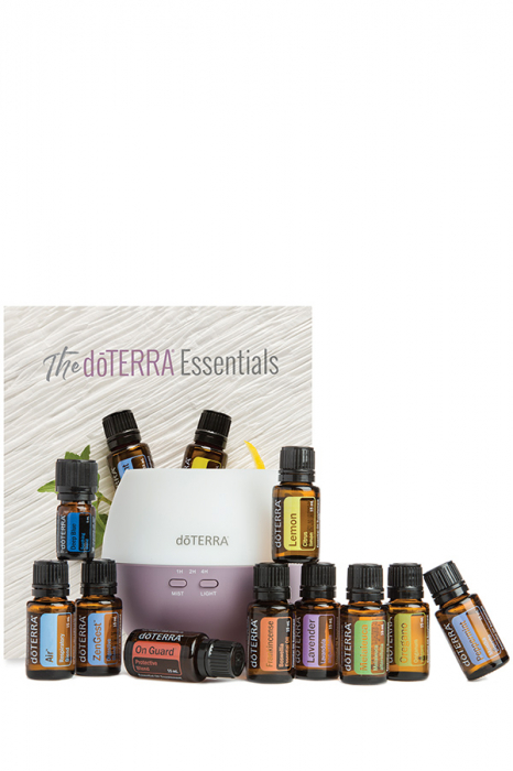 doTerra Home Essential Kit - kit complet cu difuzor Petal 2.0 si cele mai uzuale 10 uleiuri esentiale [0]