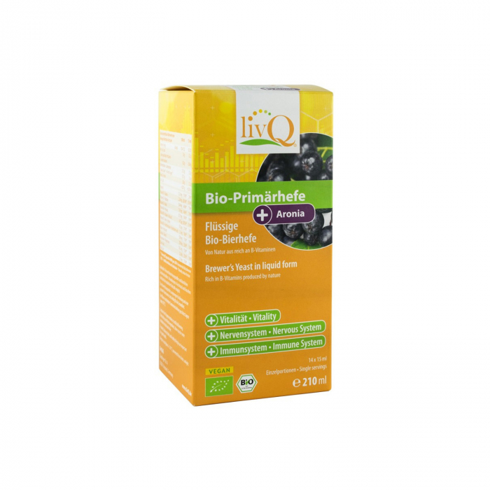 Drojdie primara BIO cu aronia, 210 ml livq [0]