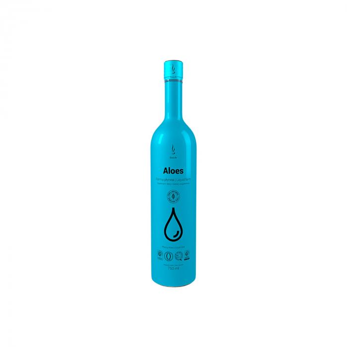 DuoLife Aloes – supliment lichid cu Aloe Vera pentru detoxifiere 750ml [0]