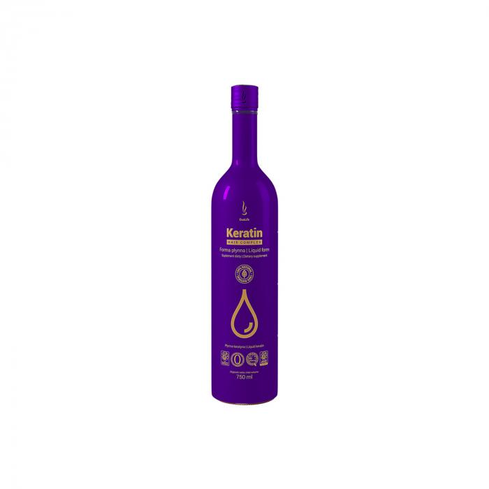 DuoLife Keratin Hair Complex - supliment lichid pentru sanatatea parului 750ml [0]