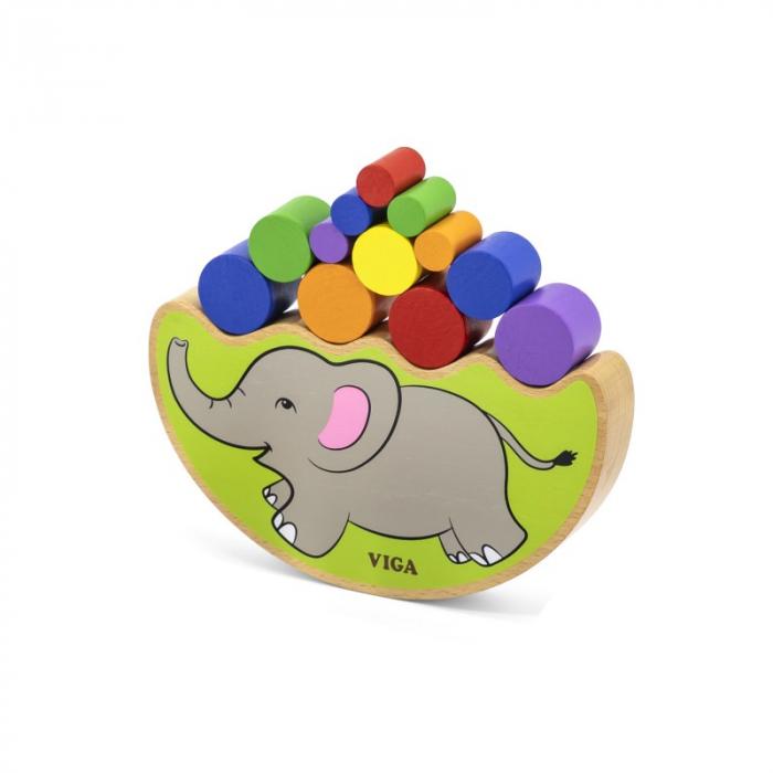Elefantul echilibrist – joc de indemanare [2]