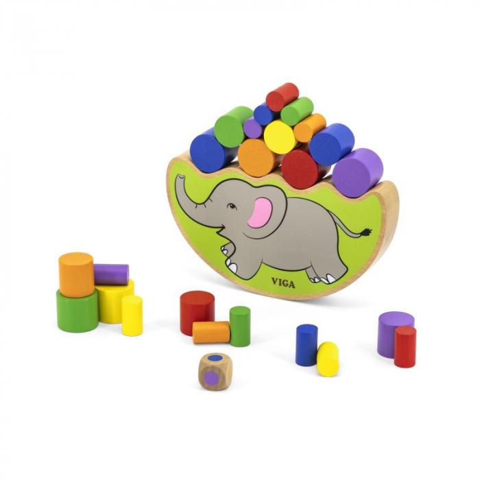 Elefantul echilibrist – joc de indemanare [1]