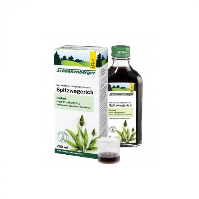 Extract de Patlagina  BIO Schoenenberger 200ml [0]