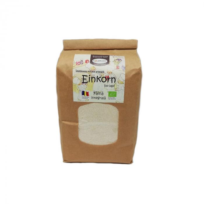 Faină integrală de einkorn BIO, 1 kg Biofarmland [0]