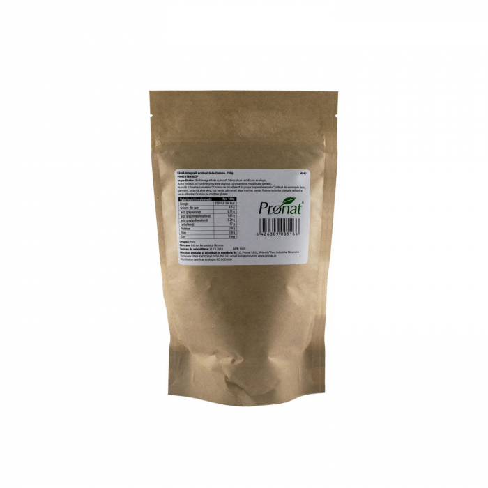 Faina integrala BIO de quinoa FARA GLUTEN, 250g [2]