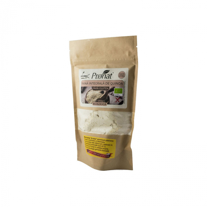 Faina integrala BIO de quinoa FARA GLUTEN, 250g [1]