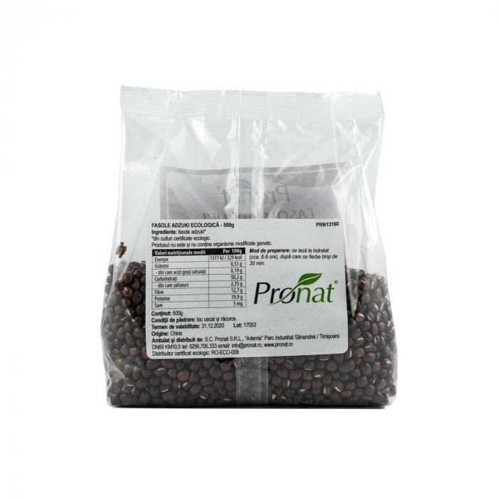 Fasole adzuki BIO, 500 g [1]