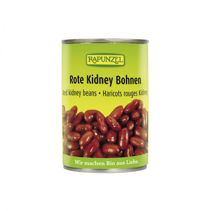 Fasole Kidney bio roşie la doza Rapunzel 400g [0]