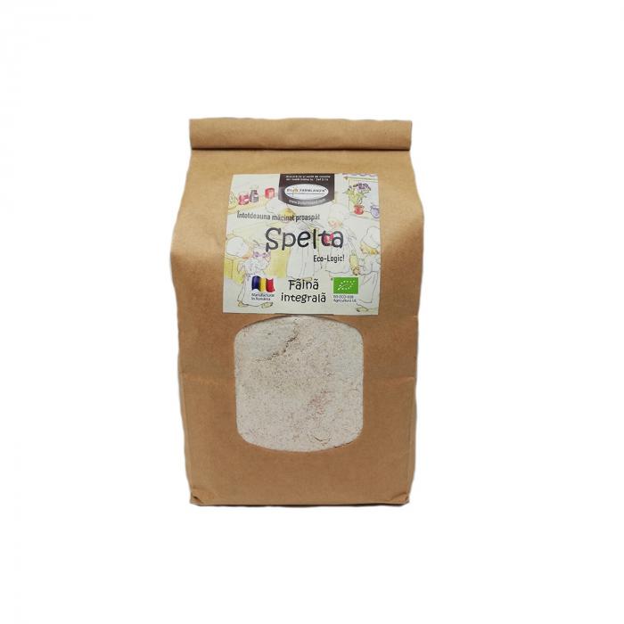Făină integrală de spelta BIO, 1 kg Biofarmland [0]