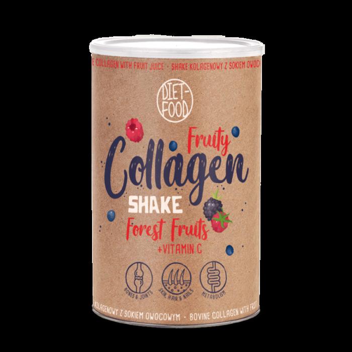 Fruity Colagen Shake Fructe de pădure 300g [0]