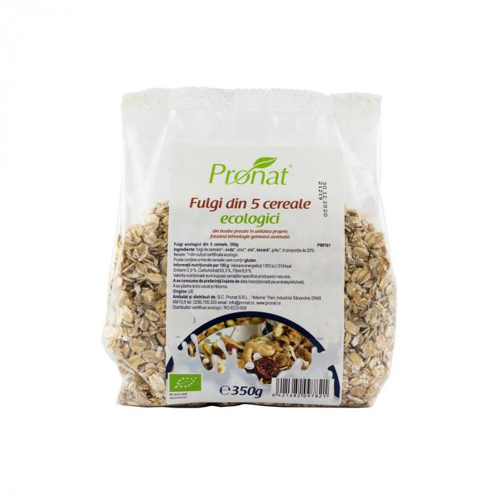 Fulgi din 5 cereale BIO, 350 g [0]