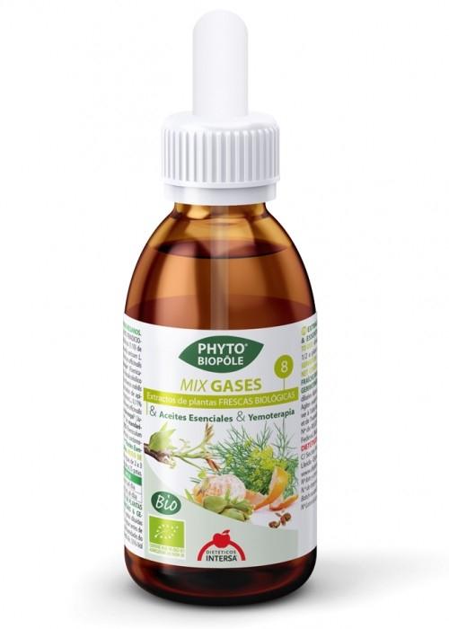 GASES - formula cu extracte BIO din plante pentru DIGESTIE SI STOMAC PLAT, 50ml cu picurator [0]