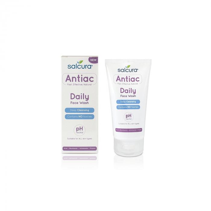 Gel de curatare antiac pt. tenul cu acnee, cosuri, puncte albe sau negre, Salcura, 150 ml [0]