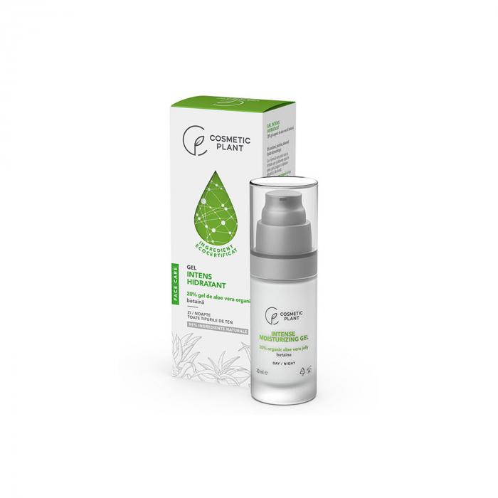 Gel Intens Hidratant cu 20% Gel de Aloe Vera 30ml Face Care [0]