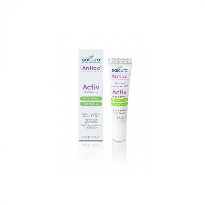 Gel tratament antiac, acnee si pete pigmentate, pt fata si corp, Salcura 15 ml [0]