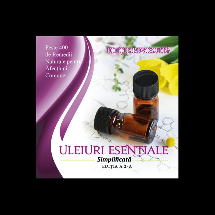 Ghid de folosire a uleiurilor esentiale cu peste 400 de remedii naturale pe baza de uleiuri esentiale pentru afectiuni comune. [0]