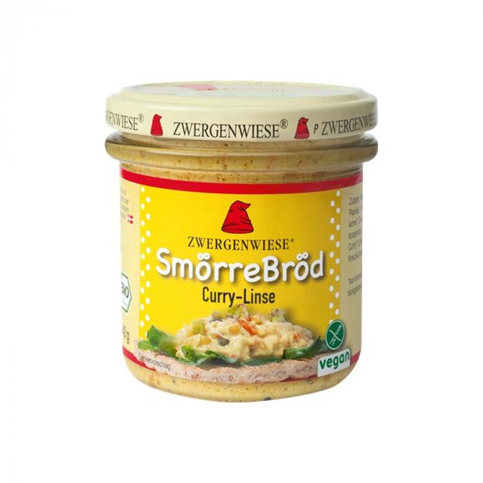 Gustare cu curry si linte BIO fara gluten Zwergenwiese 140g [0]