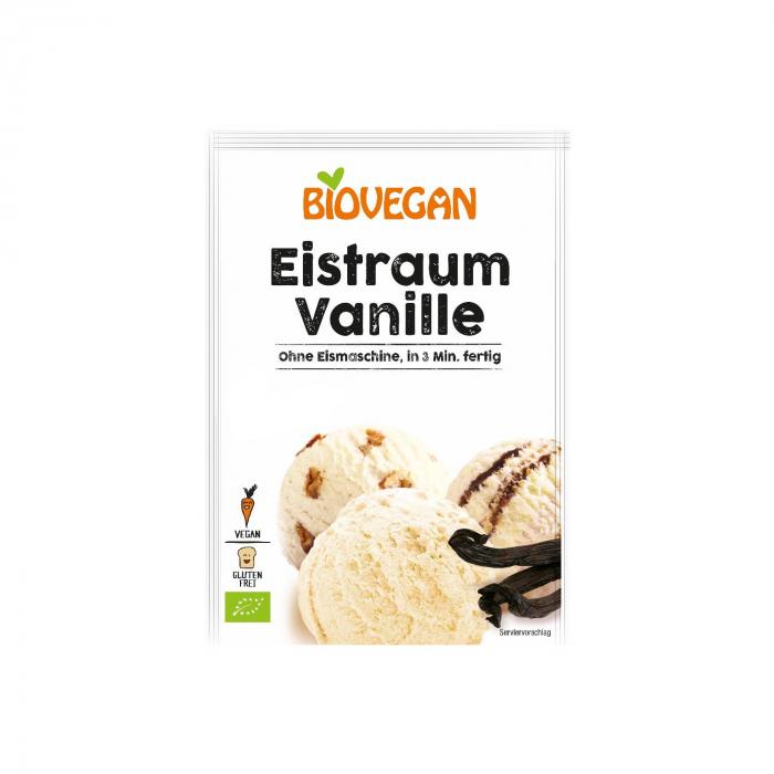 Inghetata de vanilie pudra BIO Biovegan 77g [0]