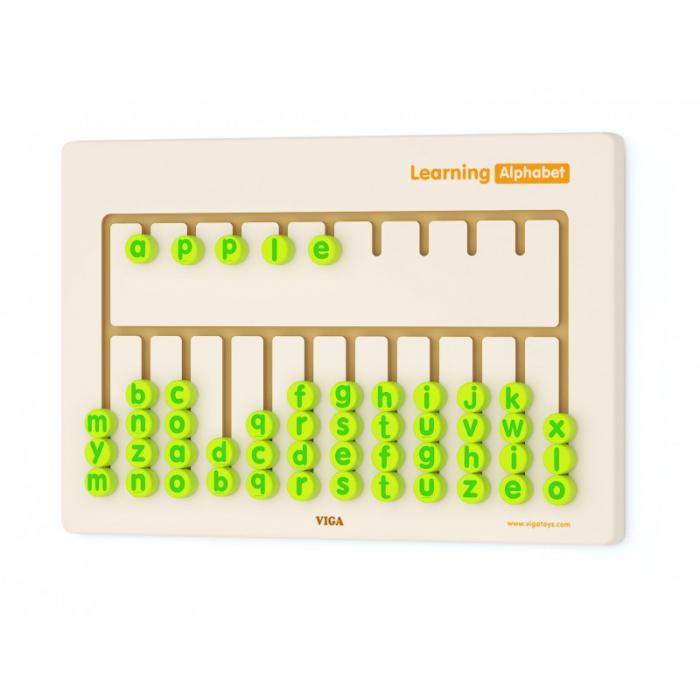 Jucarie de perete - Invata alfabetul [0]