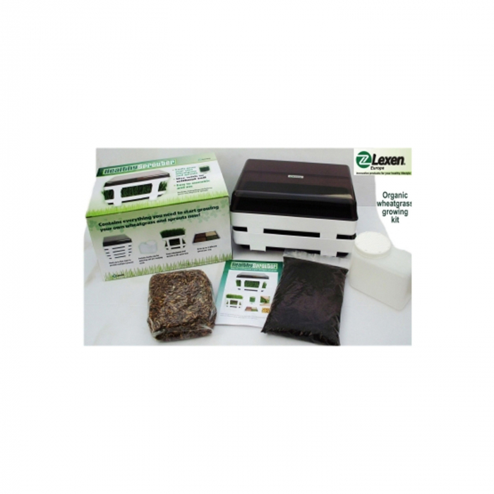 Kit complet pt. iarba de grau si germinare healthy sprouter [0]