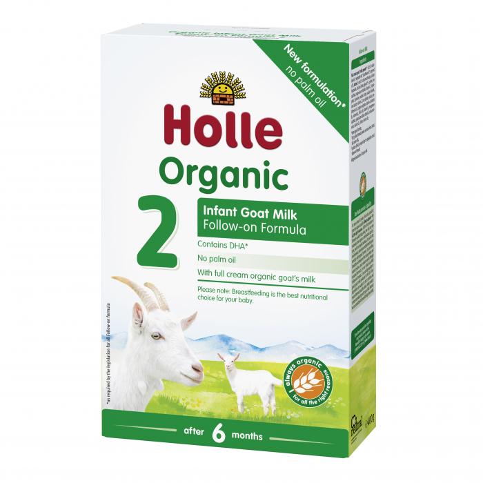 Lapte organic de capra Formula 2, de la 6 luni, 400g [0]