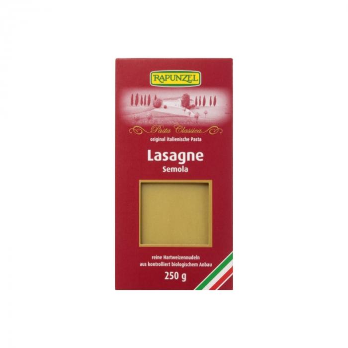 Lasagne BIO semola Rapunzel 250g [0]