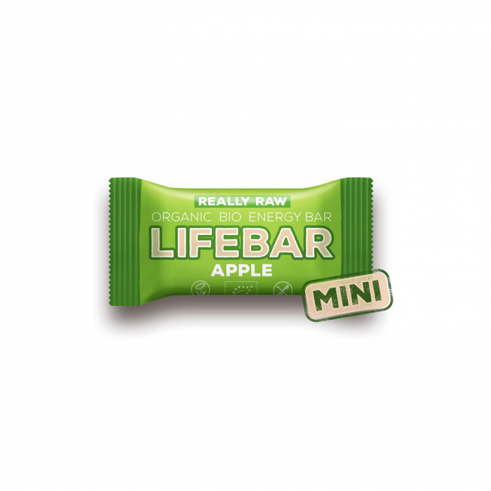 Lifebar baton cu mere raw BIO 25g [0]