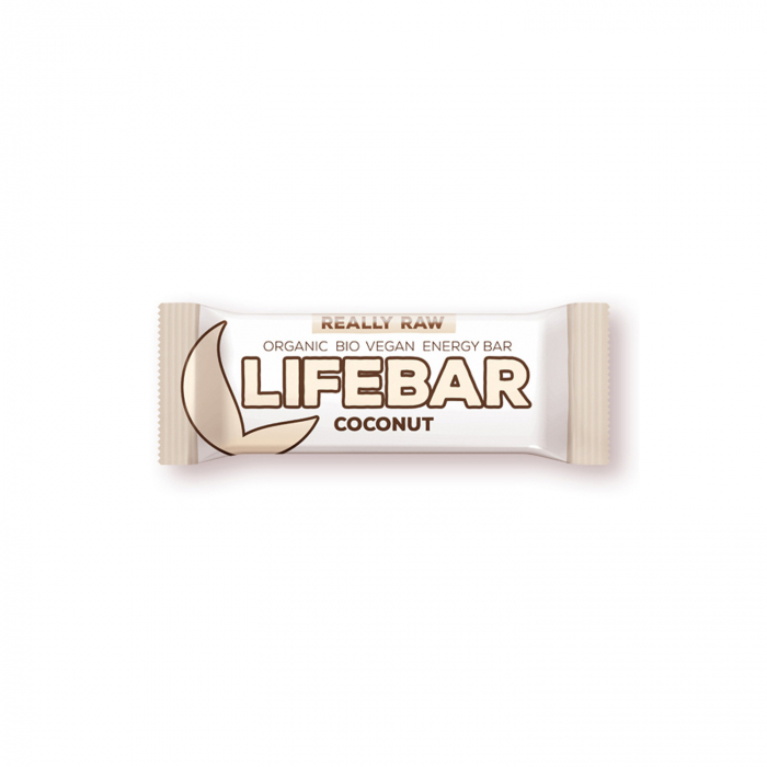 Lifebar baton cu nuca de cocos raw BIO 47g [0]