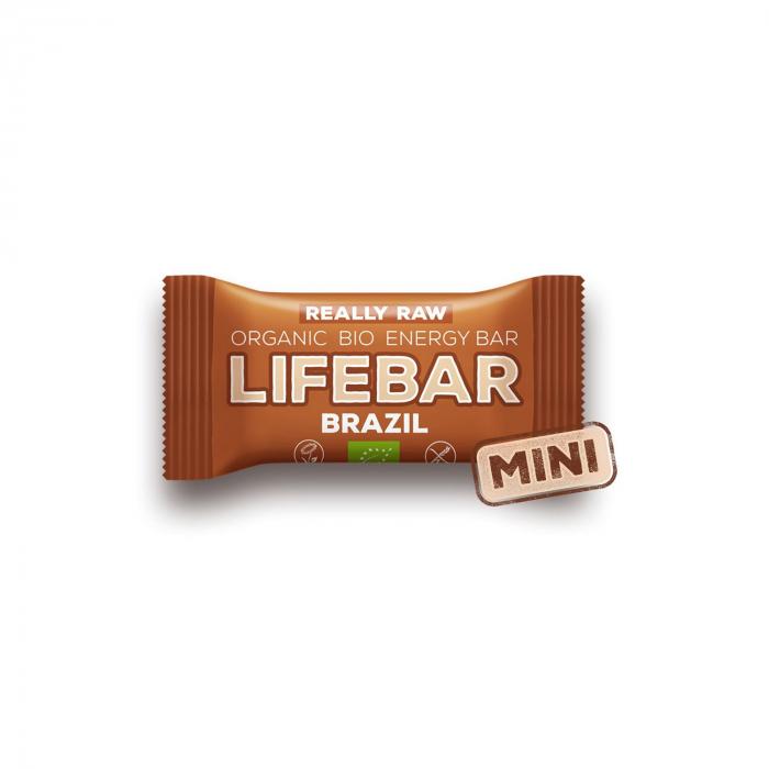 Lifebar baton cu nuci braziliene raw BIO 25g [0]