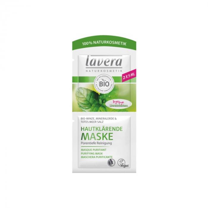 Masca anti-acnee cu menta Lavera 10ml [0]