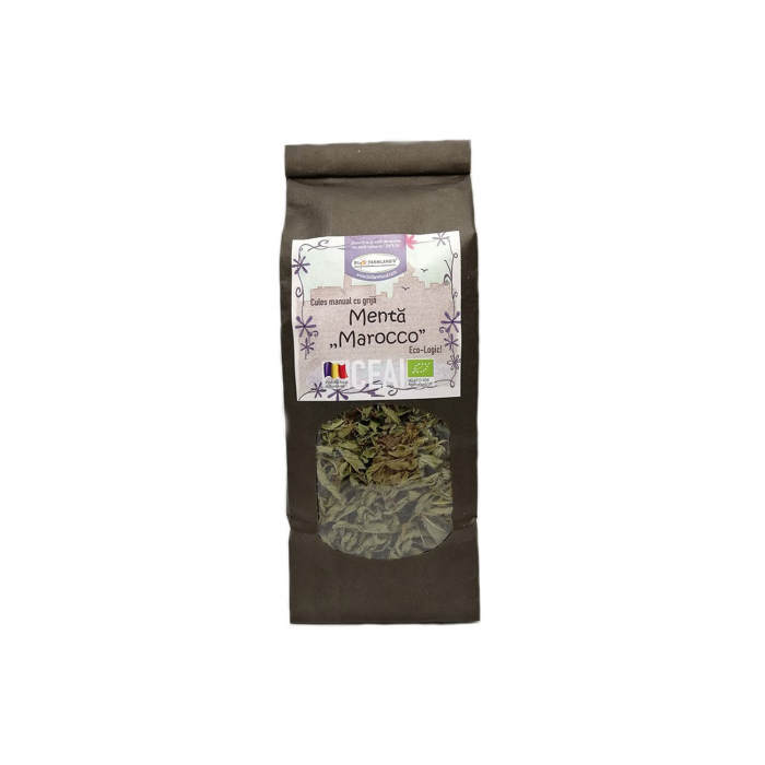 Ceai de Menta Marocco (Menta spicata - Spearmint) BIO, 40 g [0]