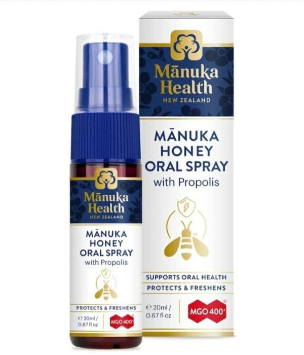 Spray oral miere de Manuka MGO 400+ cu Propolis (200ml) [0]