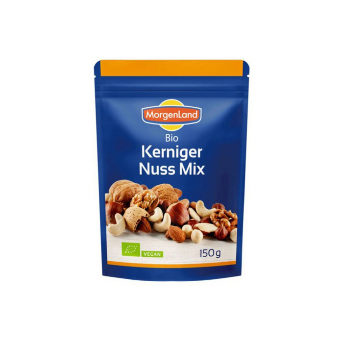 Mix BIO de nuci, alune, migdale si caju, 150g Morgenland [0]