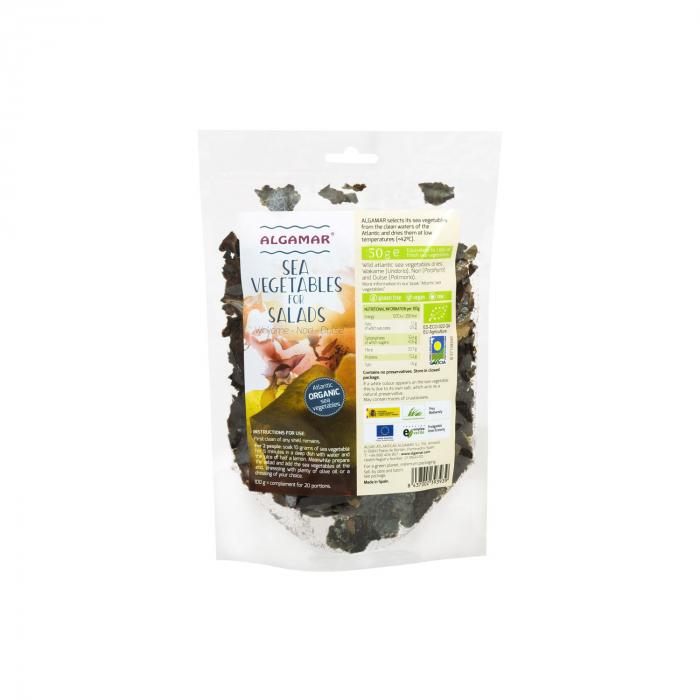 Mix De Alge Marine Pentru Salata Bio 50G [0]