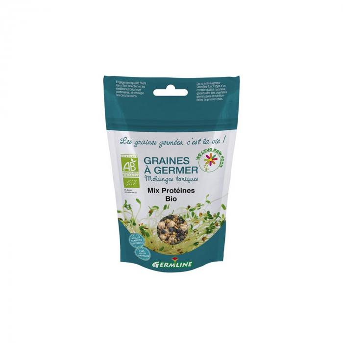 Mix proteic pt. germinare (naut, linte verde, schinduf) BIO 200g [0]