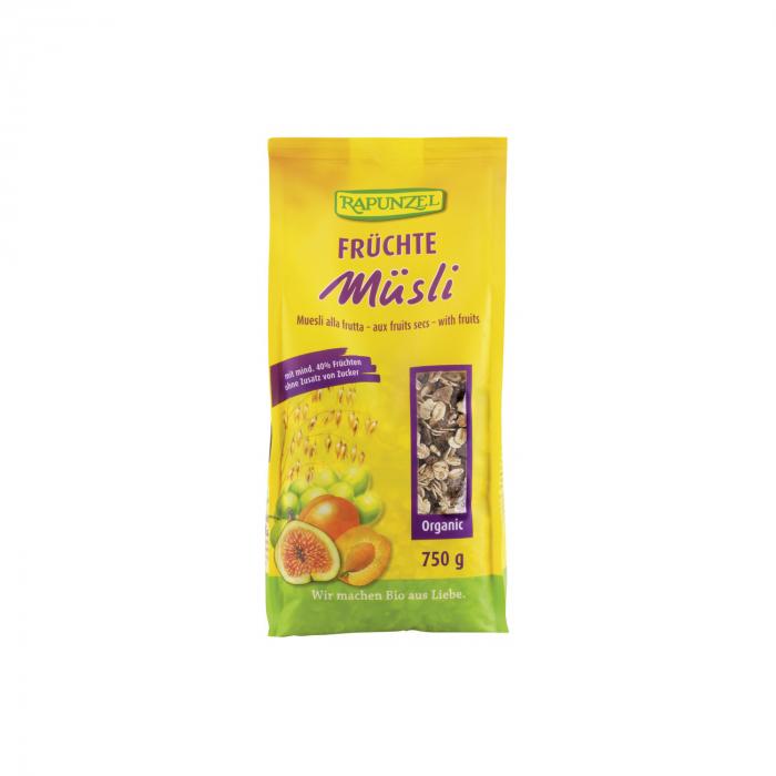 Musli cu fructe BIO Rapunzel 750g [0]