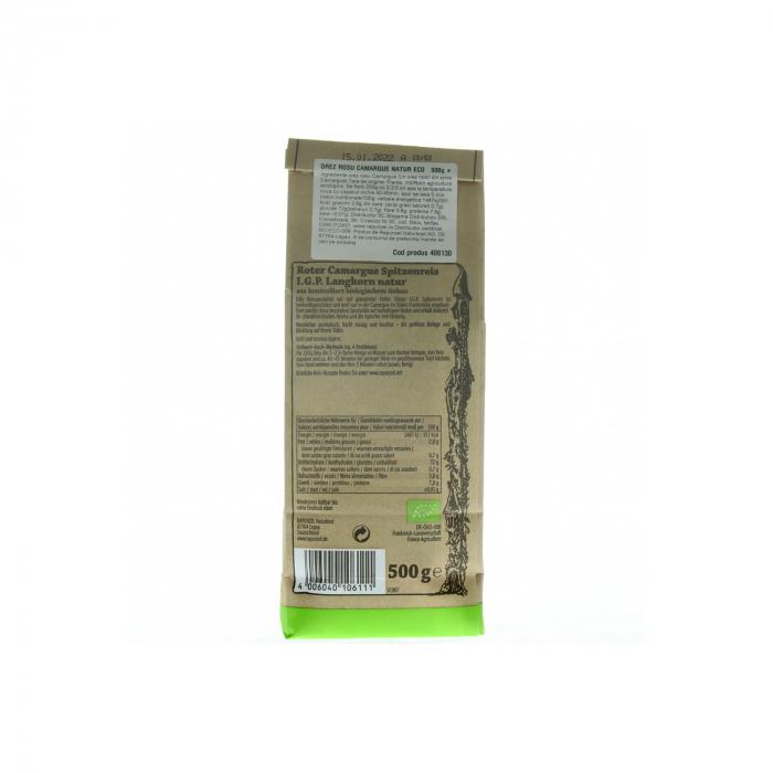 Orez rosu BIO, Camargue natur Rapunzel 500g [1]
