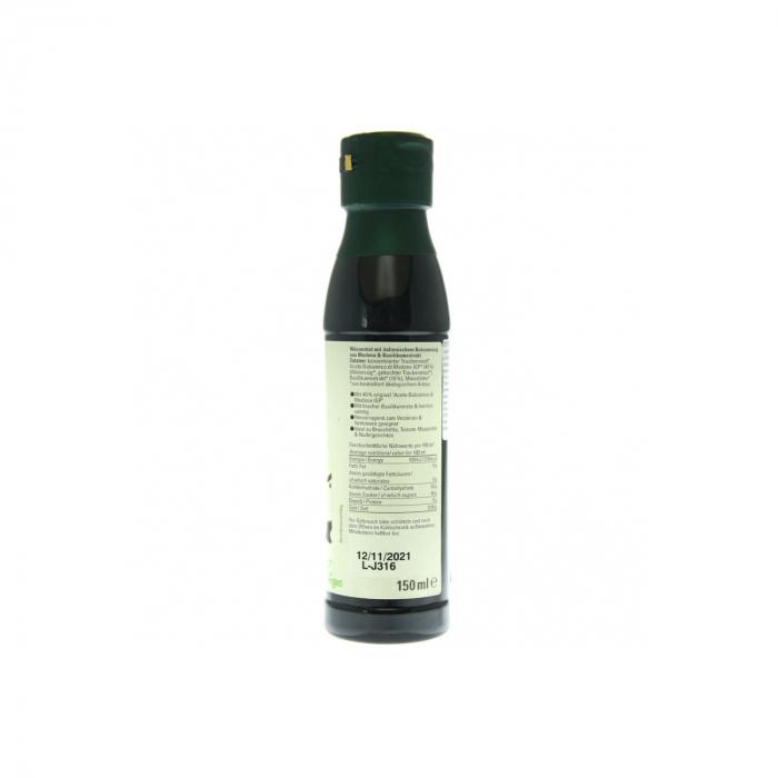 Otet balsamic BIO crema cu busuioc 150ml [1]