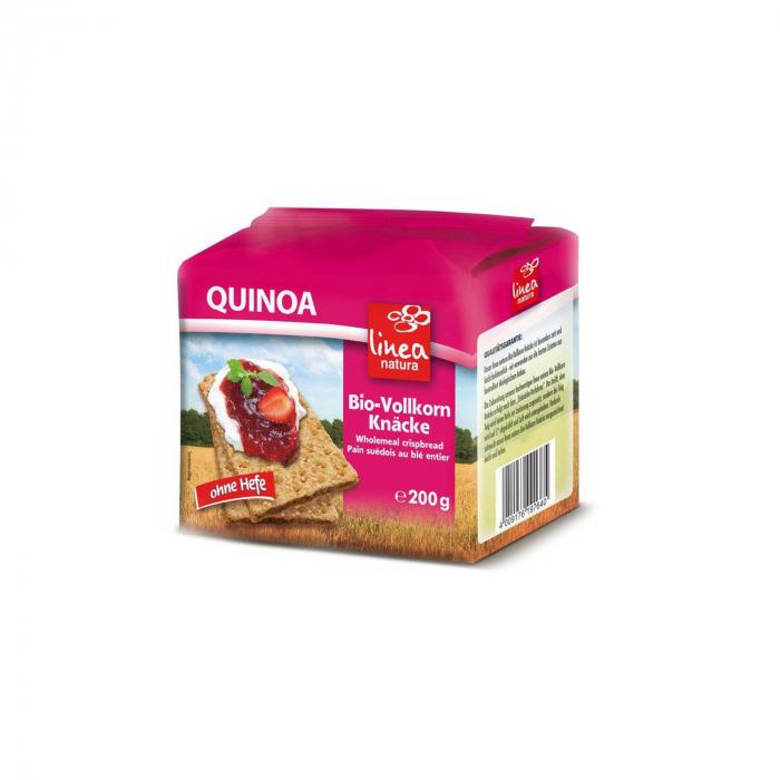 Paine crocanta cu quinoa BIO Linea natura  200g [0]