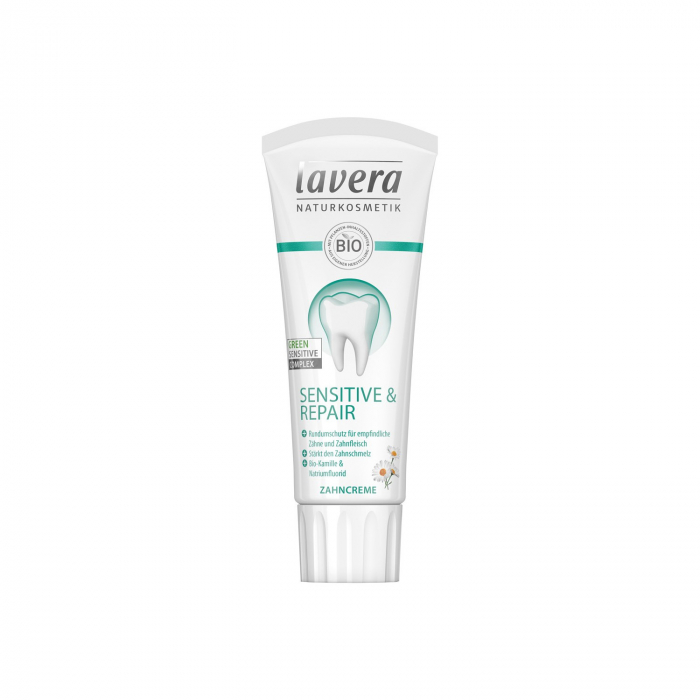 Pasta de dinti BIO cu musetel, sensitive & repair, 75ml Lavera [0]