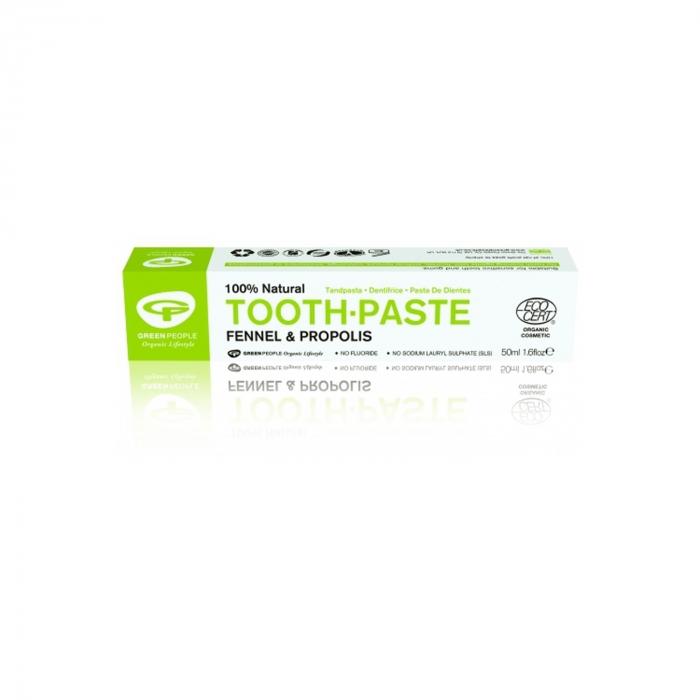 Pasta de dinti cu fenicul organic si propolis, homeopata [0]