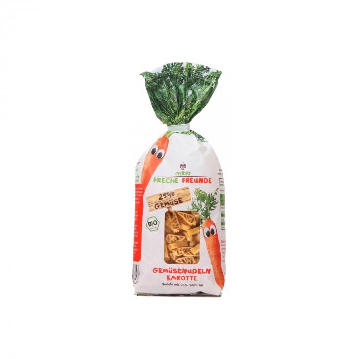 Paste pentru copii din grau dur cu morcovi BIO 300g [0]