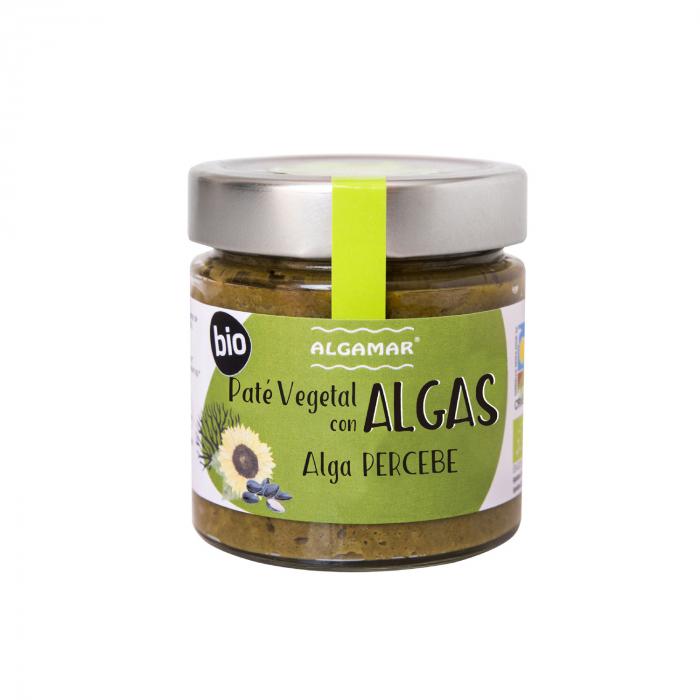 Pate Vegetal Cu Alge Percebe Bio 180G [0]